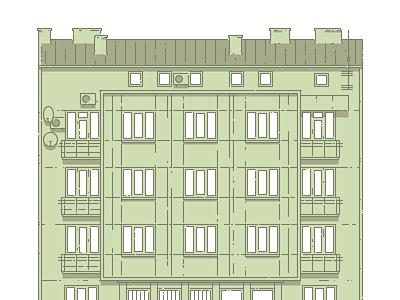 Lviv Houses — 31 Lychakivska St illustration icon architecture building house lviv