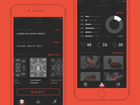 Daily UI: CurseYou Magic App