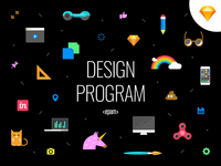 Design Program Cover [FREEBIE]