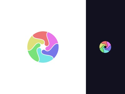abstract logo abstract colorful colorful abstract logo abstract icon icon abstract minimalism branding design logodesign minimalist logo minimal logo