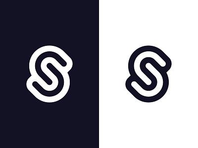 S monogram logo designer branding identity icon typography lettermark s minimal symbol minimal design minimalist logo minimal logo clean logo simple logo monogram logomark mark symbol logodesign logo design logo