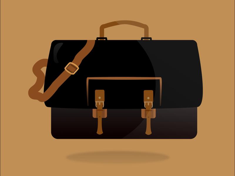 Going somewhere? art work carry on carry daily work colors messenger bag bag graphic design illustrator art affinity designer