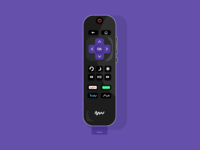 Roku Remote.