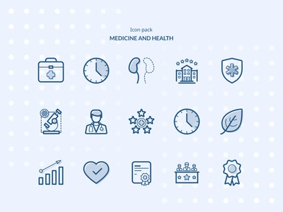 Medicine and Health Icon Pack
