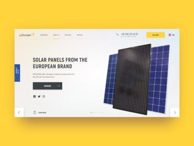 Europe ST web design