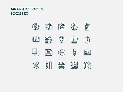 Graphictools Iconset