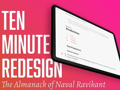 10-Minute Redesign: Navalmanack.com typography tutorial