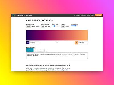 Gradient generator – free tool free tool color gradient
