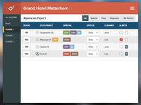 WIP hotel app - housekeeping module