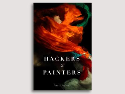 Hackers & Painters cover didot cover book