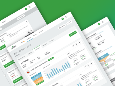 Infer Prospect Management Platform infer predictive marketing ai dashboard data