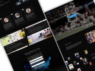Philo Homepage Concepts omnes tv philo
