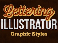 Adobe Illustrator Lettering Graphic Styles