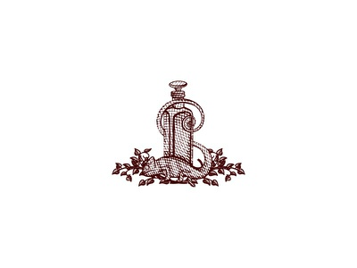 Elixir apothecary leaves elixir potion chameleon hand drawn old school illusration vintage