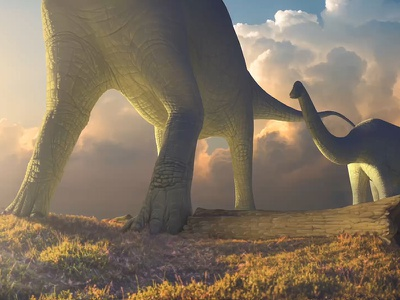 Brontosaurus is back! illustration paleoart dinosaur