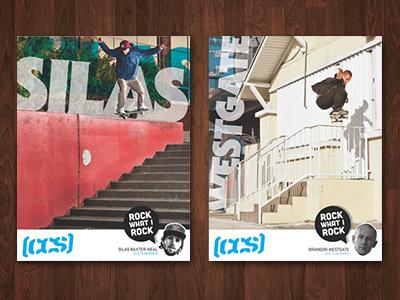 CCS Pro Ad Campaign art direction campaign magazine ad advertising skateboarding graphic design