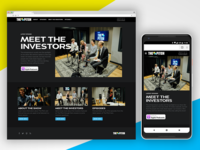The Pitch Microsite
