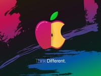 Custom Apple Wallpaper