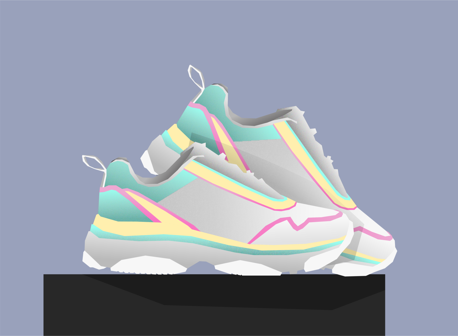 Shoes By Nora Bergseth On Dribbble