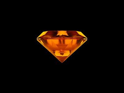 Diamond Render 3d modeling render c4d cinema4d diamond