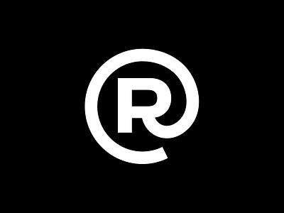 Remote Work Logo icon minimal strong grid space globe letter bold symbol logo