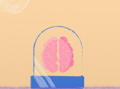 Brain design vector illustration