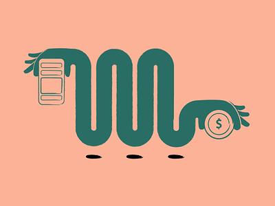 How do Free Apps Make Money web drawing animalsketch app art illustration art sketch design vector illustration