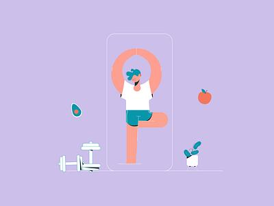 How to Create a Workout App1 web drawing animalsketch illustration art app sketch art vector design illustration