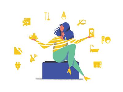 Services ui drawing animalsketch illustration art app sketch art vector design illustration