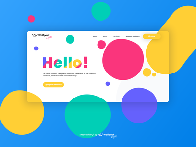 Pre-Cooked Agency/Freelance Landing Page Design freelancer landing page agency landing page landing page concept uxui landing page design landingpage