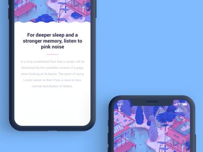 2 mobile app branding design illustration