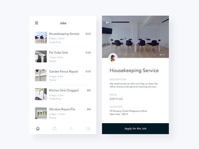 Job Listings Mobile App
