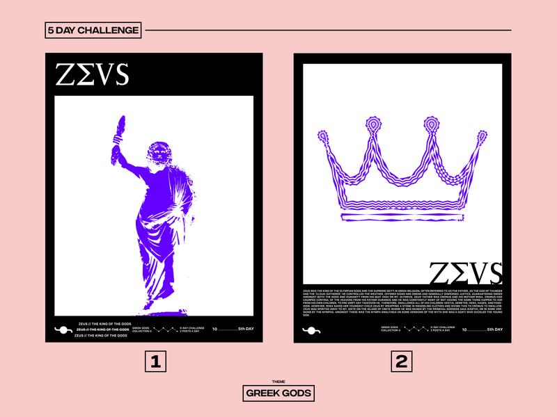 ZEUS god king zeus illustration greek gods challenge graphicdesign poster design poster art poster design