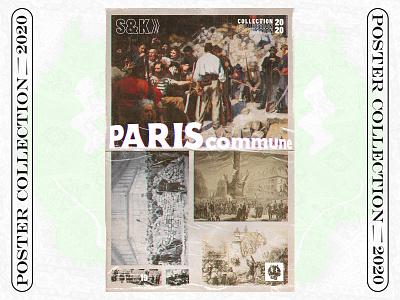 POSTER 19 ( C/20 ) pariscomune paris collection challenge illustration graphicdesign poster design poster art poster design
