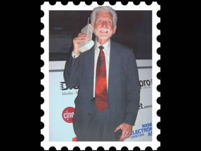 Postcard stamp 1 [ Martin Cooper ]