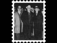 Postcard stamp 5 [ mafia ]