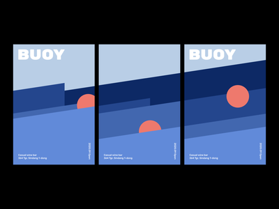 BUOY Posters branding