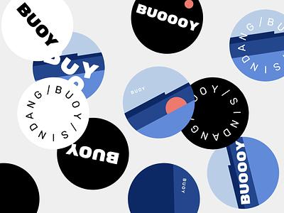 BUOY Coaster branding