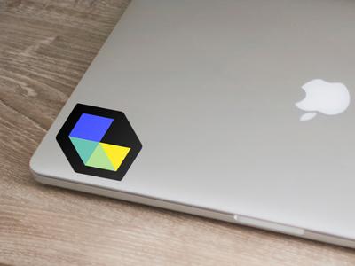 Design Table Sticker podcast sticker identity branding