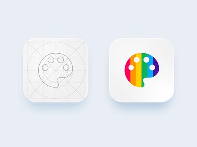 Coloring Book App Icon