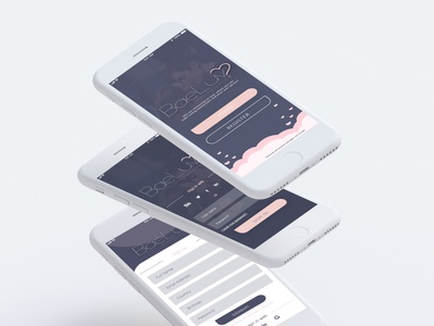 BaeLuv Mobile App Design