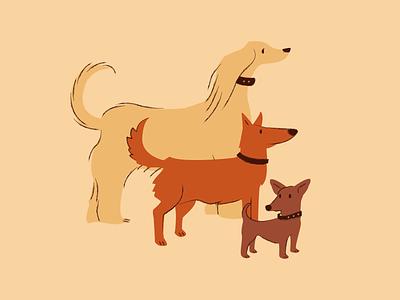 Canine Haven animal illustration animals dog ilustration pet care dog walk dog care pet dog dogs pets canine illustrator digital art vector illustration digital illustration vector illustration design