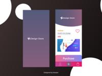 Design Store App. UI Design
