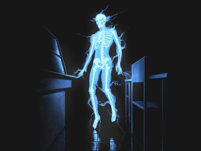 Doctober 22: Dr Manhattan comics fan art doctor digital painting character digital painting design art illustration