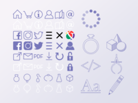 Vector Icons for SVG
