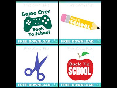 Back To School svg Files clipart teacher school back to school svg digital art