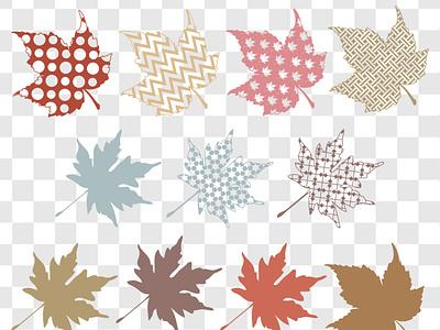 Fall Leaf Patterns leaf