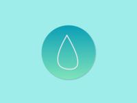 Water Drop App ICON