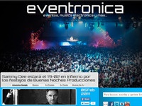 Eventronica.Com   Presentation Shot