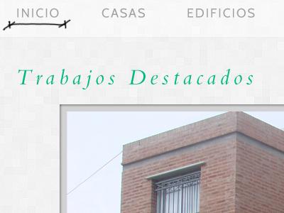 Arquitect's Portfolio Site